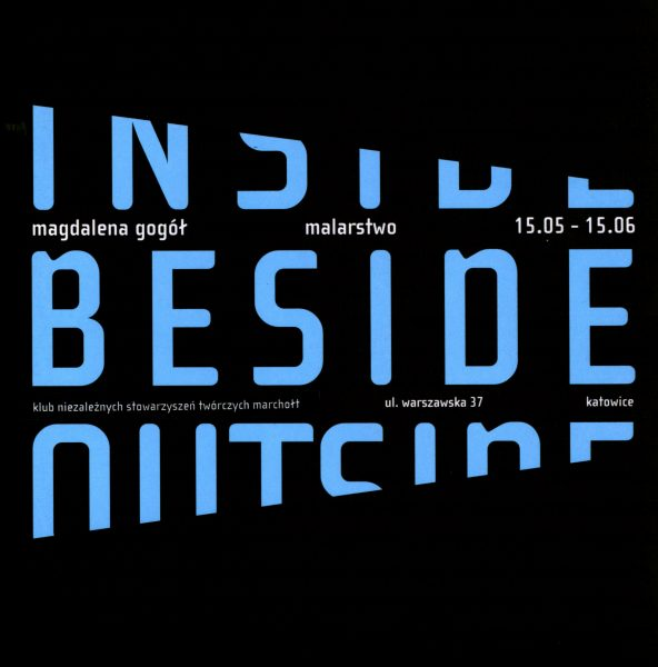 Book Cover: M. Gogół-Peszke - Inside Beside Outside