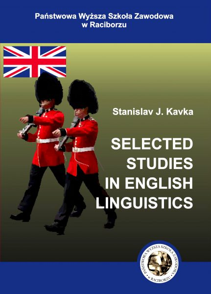 Book Cover: S. Kavka - Selected Studies in English Linguistics